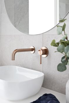 Home Tour - Grange Road Residence by Scope Building Solutions bad Copper Bathroom, Small Bathroom, Bathroom Ideas, Bathroom Remodeling, Bathroom Grey, Bathroom Sinks, Bathroom Designs, Remodeling Ideas, Bad Inspiration