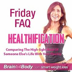 Comparing The High-light Reel Of Someone Else's Life With Your Reality #UNfun http://www.brainb4body.com/165-friday-faq-comparing-the-high-light-reel-of-someone-elses-life-with-your-reality/