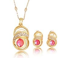 WesternRain Women's Gold-plated  Rhinestone Jewelry Set. Get superb discounts up to 80% Off at Light in the Box using coupon and Promo Codes.