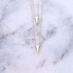 Double Edge Layered Necklace #anarchystreet