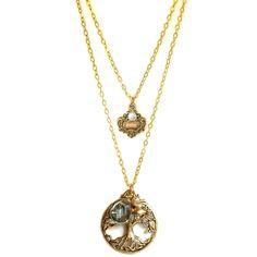 Tree of life multi strand necklace $75 - Baubella by Sophia & Chloe