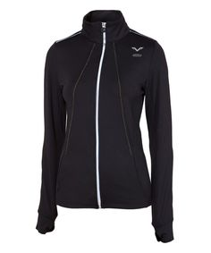 Look at this #zulilyfind! Green Accelerate Jacket by Vipe Activewear #zulilyfinds