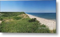 Cape Cod National Seashore In All Its Glory Panorama Metal Print By Matt Wade
