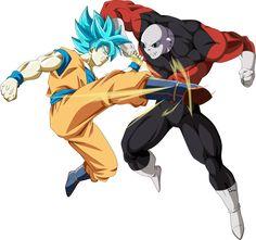 Goku ssj blue vs jiren universo 11 by naironkr on DeviantArt