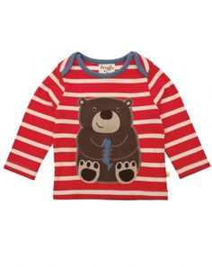 Bear Envelope Top - Organic Clothes By Frugi