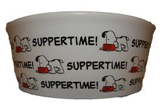Peanuts Dog Bowl Suppertime Large ** Details can be found by clicking on the image. (This is an affiliate link and I receive a commission for the sales) Pet Dogs, Doggies, Peanuts, Dog Bowls, Image Link, Just For You, Amazon, Check, Note