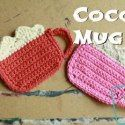 Free Cocoa Mug Coaster Pattern by Divine Debris via Saturday Link Party 5 - Rebeckah's Treasures