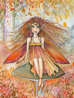 Fairy Art by Molly Harrison Something in the Air