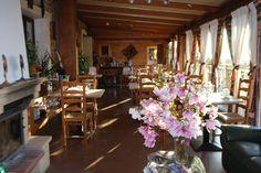 Salle du restaurant du Ranch des Lacs