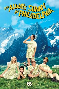 RETURNS JAN 4, 2017  -     It's Always Sunny in Philadelphia (TV Series 2005– ) -  COMEDY