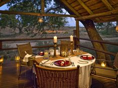 Luxury South African Ulusaba Game Reserve