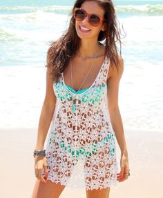 Saida de Praia Flower - Mundo Lolita