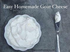 Easy Homemade Goat Cheese