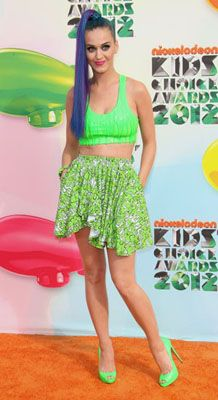 Katy Perry's Neon Look