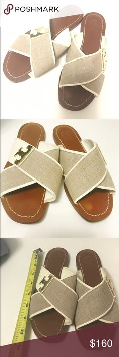 Tory Burch Sandals Tory Burch Sandals Shoes 5 preowned great condition normal wear on soles leather sole Tory Burch Shoes Sandals