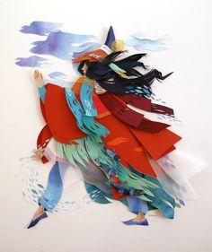 Les Scènes oniriques de Papier de Morgana Wallace (1)