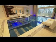 Amazing Secret / Hidden Swimming Pool - A Creative Engineering By AGOR - YouTube