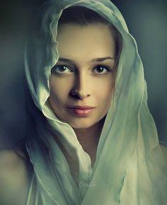 Mikhail Grafik, Russia {beautiful female face woman portrait photography} <3