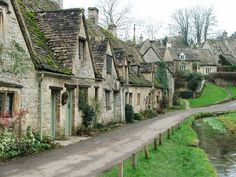 *Arlington Row in the quaint village of Bibury, Cotswolds, Gloucestershire, South West, England, United Kingdom*  |The picturesque Arlington Row cottages were built in 1380 as a monastic wool store. This was converted into a row of weavers' cottages in the 17th century. The cloth produced there was sent to Arlington Mill on the other side of Rack Isle. Arlington Row is probably one of the most photographed Cotswold scenes.|  |Photo from ~World of Glass~|