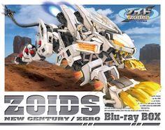 ZOIDS New Century/Zero Blu-ray BOX Region Free Import Japan 1215