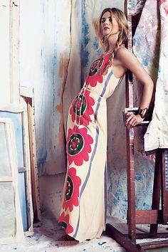Anthropologie - Mira Costa Maxi Dress #anthrofave