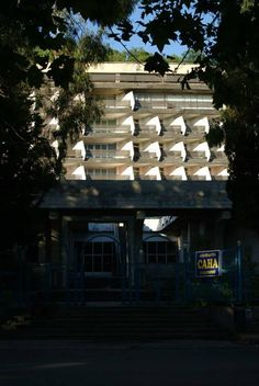 Sana Sanatorium, Gagra, Abkhazia.