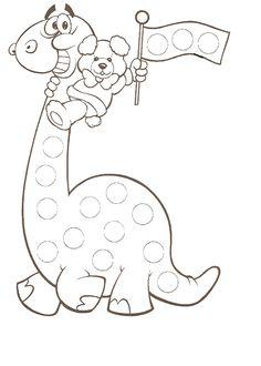 La Farandole - Bienvenue sur le site de l'association des assistantes maternelles agréées du secteur d'Altkirch Preschool Art Activities, Dinosaur Activities, Dinosaur Crafts, Toddler Activities, Finger Painting, Dot Painting, Painting For Kids, Winter Crafts For Kids, Diy For Kids