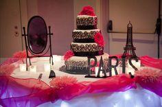 "our Fantasy Skirt from www.afairytalewedding.com ""Paris"" themed Quinceanera. #fantasy skirt #tabathascreations #afairytalewedding.com"