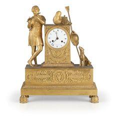 Asta Dalla Dimora di una Signora Genovese24 September 2014 - Wannenes Art Auctions Alt. cm 42, largh. cm 34, prof. cm 13 AN ORMOLU FRENCH CLOCK BY CHEVALLIER, CIRCA 1820