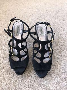 0ad8b2cb7b Miu miu Black Suede Platform High Heels- 41 - Pre Owned #fashion #clothing