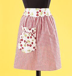 I adore cherry themed aprons