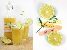 Mango Pfirsich Limonade