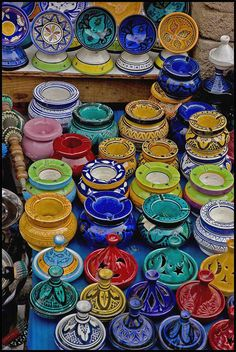 Moroccan Pottery [photo by Patrick Howe]