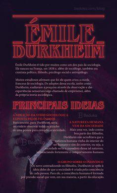#Enem #Vestibular #Estudo #Sociologia #ÉmileDurkheim