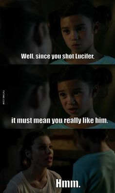 In an effort to get over his infatuation with Chloe, Lucifer decides that he must seduce her. Meanwhile the two team up on a missing girl case and Amenadiel confronts Maze about his concerns about Lucifer. Series Movies, Book Series, Lucifer Characters, Universe Tv, Tom Ellis Lucifer, Getting Over Him, Lauren German, Memes, Frases