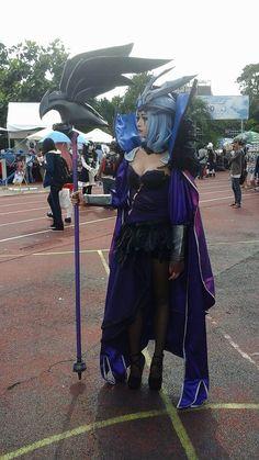 Cosplay Ravenborn LeBlanc in League of Legends by solomonlq