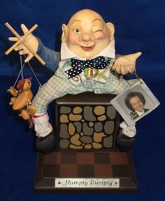 Humpty Dumpty Doll by Richard Simmons Collection of the Masters Childhood Dreams
