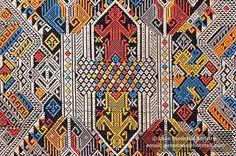 Laos Textile Motif Photo074