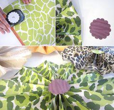 A Handmade Safari Party | The Green Kangaroo Blog