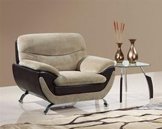 Champion Froth Wood Bonded Leather Cushion Back Chair