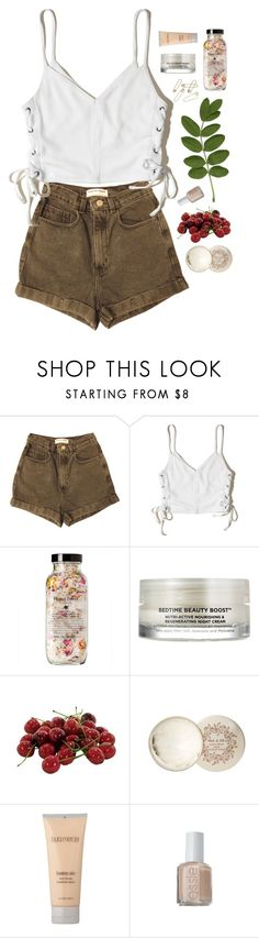 """""""'Til the stars fall from the sky"""" by nandim ❤ liked on Polyvore featuring American Apparel, Hollister Co., Oskia, INC International Concepts, Paul & Joe, Laura Mercier and ULTA"""