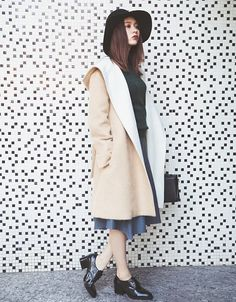【ViViモデル八木アリサ】トレンドのガウンコートを着回し-vol.2-|NET ViVi|講談社『ViVi』オフィシャルサイト