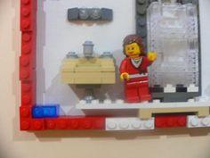 LEGO Bathroom Decor LEGO Bath Life Picture 5x7 By ValGlaser, $62.00