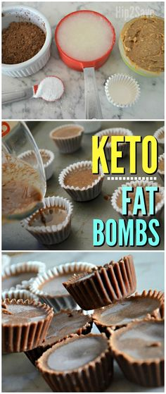 Enjoy Reese's Peanut Butter Cups?! Try These 4-Ingredient Keto Fat Bombs – Hip2Save