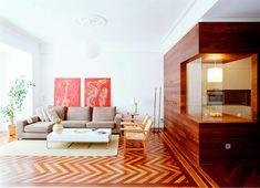 Diseño interior - Aprovechamiento luz natural - Rehabilitación coruña
