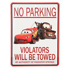 Cars Tin Sign