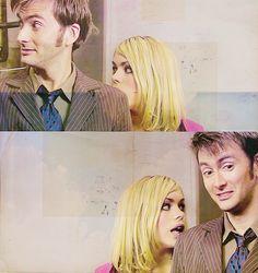 The Doctor + Rose Tyler