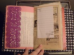 ROD Journal - lapointe67 - paper doilies and note pad papers.