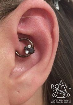 14ga Daith Piercing