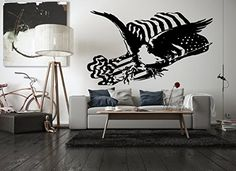 Wall Vinyl Sticker Decals Mural Room Design bedroom ameri...